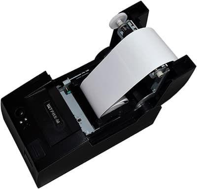 ШТРИХ-ЛАЙТ-01Ф с установленной бумажной лентой