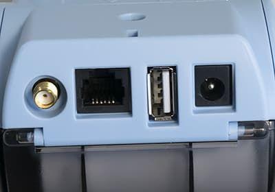 Порты Штрих-Мпей-Ф: порт GSM антенны, RS-232, USB-A и порт питания
