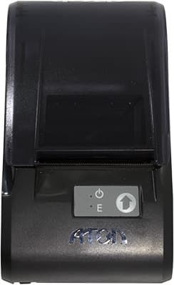 АТОЛ 11Ф вид сверху, кнопка прокрутки и индикаторы питания и ошибки