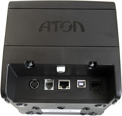 Порты АТОЛ 25Ф: порт питания, денежный ящик, LAN, USB, COM.