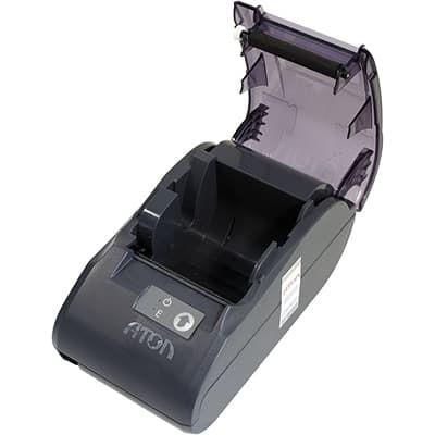 Лоток для укладки бумаги на АТОЛ 30Ф открыт