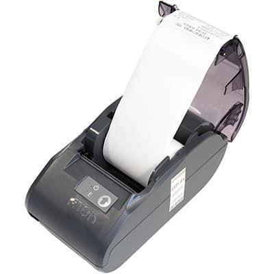 Бумага в АТОЛ 30Ф установлена в принтер