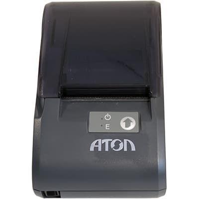 АТОЛ 30Ф видно индикаторы и кнопку прокрутки