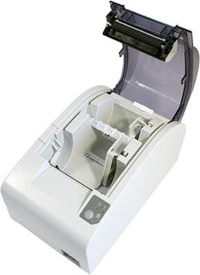 В АТОЛ 55Ф установлен ограничитель для бумаги 44мм
