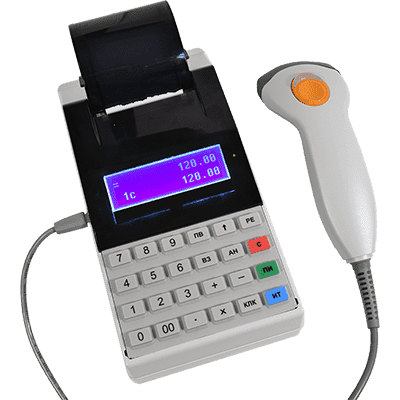 Меркурий 115Ф со сканером штрих-кода Zebex Z-3101