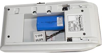Установка в Меркурий-185Ф аккумулятор и фискальный накопитель