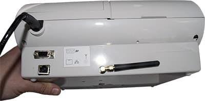 Задняя сторона ЭКР 2102К-Ф