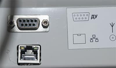 Порты COM и Ethernet в ЭКР 2102К-Ф