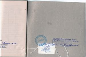 Штам налоговой в журнале кассира-операциониста