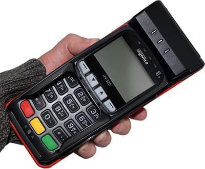 Сильной руке стильный аппарат, но в данном случае FPrint Pay 01
