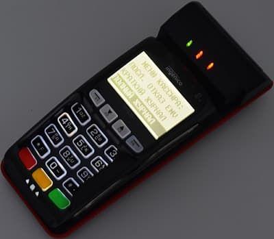 FPrint Pay 01 с подсветкой дисплея и клавиатуры