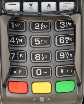 Клавиатура кассового аппарата FPrint Pay 01