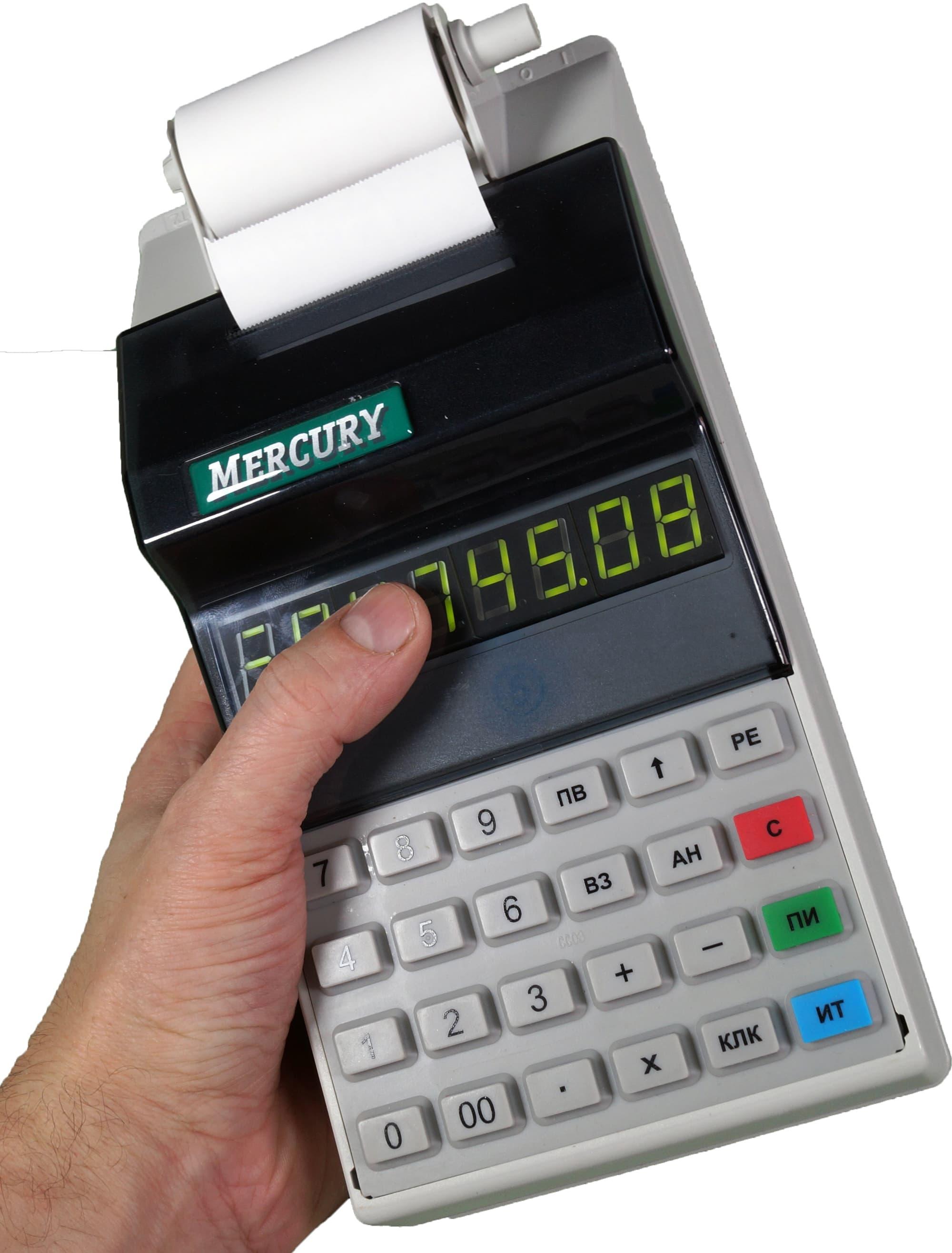 Инструкция кассовый аппарат меркурий 115к