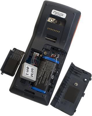 ФН, аккумулятор и разъем для SIM карты в Модуль Кассе